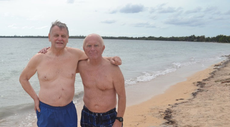 Ron Adamson & Tom Warren | Bay of Pigs, Cuba